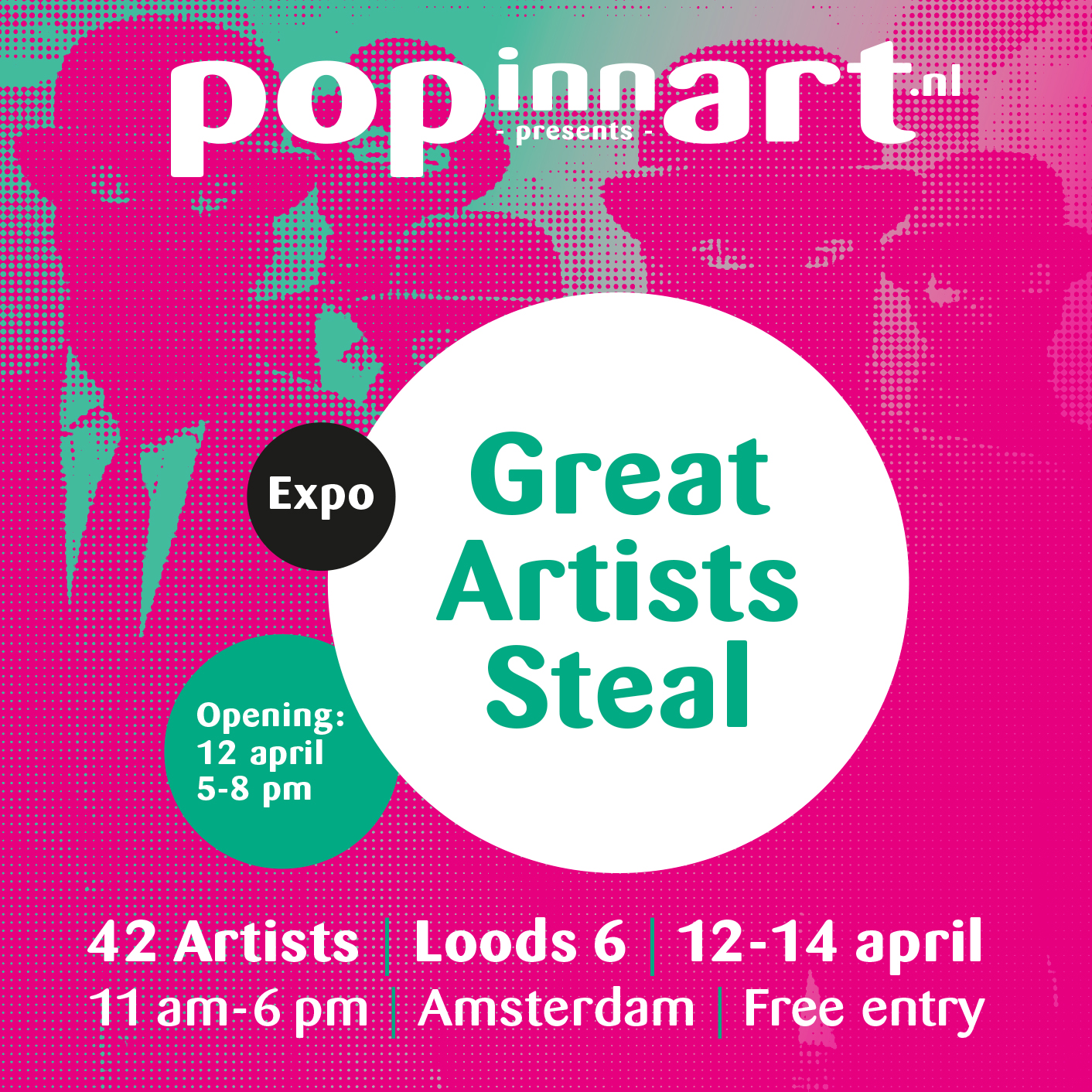Popinnart_GreatArtistsSteal_12-14april2019_Loods6