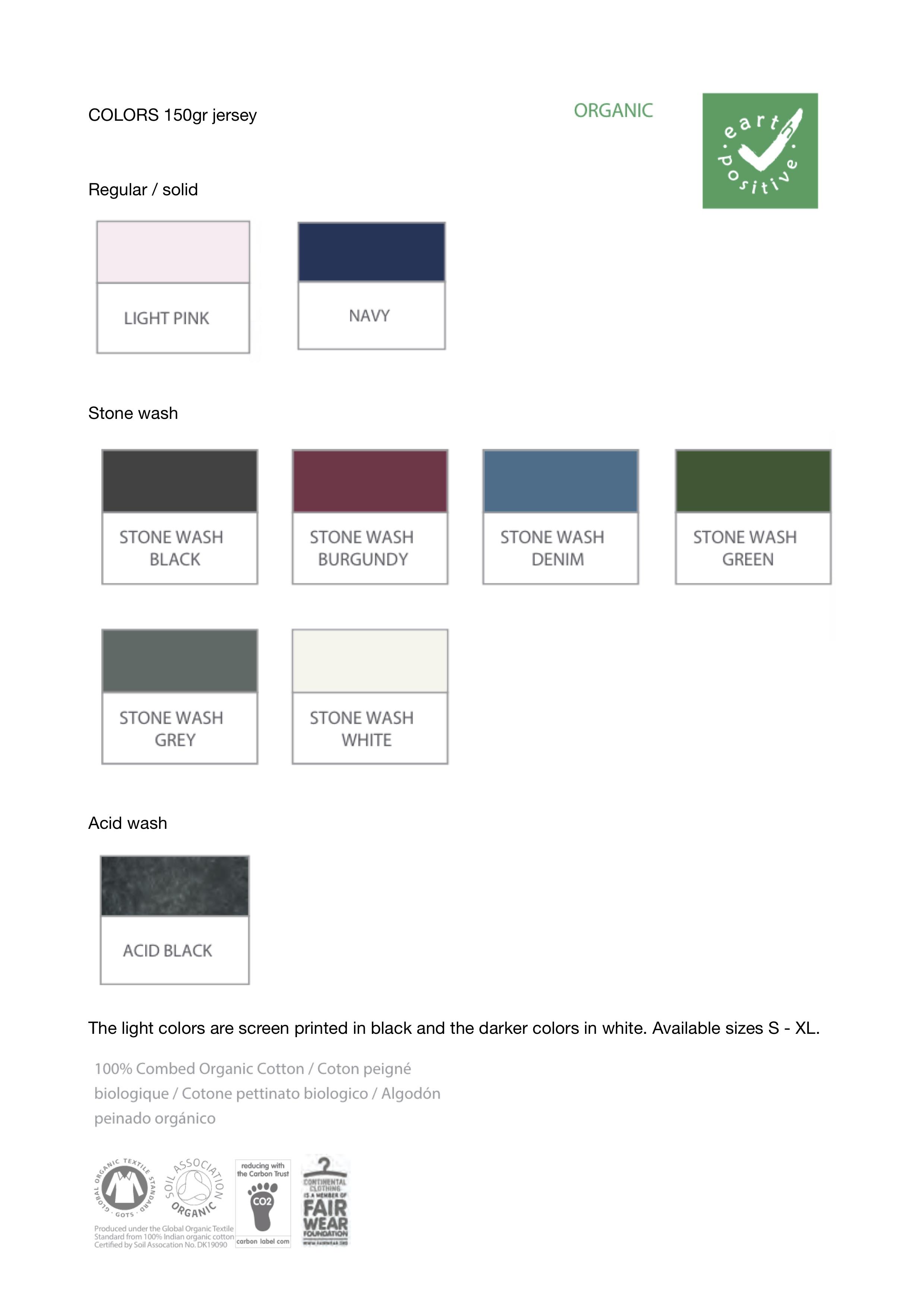 kleurenshirts